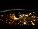 Вид с МКС на Землю - красота.