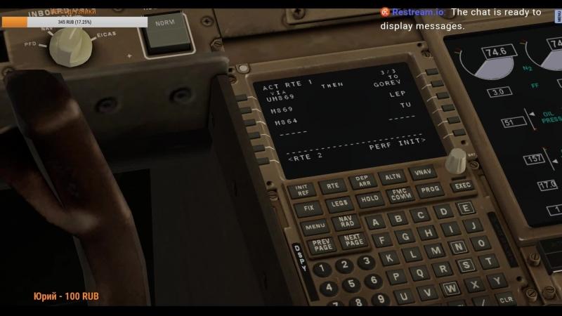 X-Plane 11 EGAC/BELFAST CITY до UUEE/SHEREMETYEVO: на Boeing 777F VATSIM BMA163