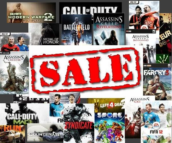 Продажа Steam / Origin / WoT / WarZ / Minecraft/FIFA 14