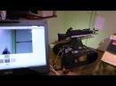 Страйкбольный робот, тест №1 (04.06.2013)  Airsoft robot, test №1
