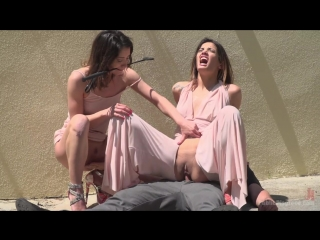 Newbie Penelope Gets Suspended, Flogged and Fucked