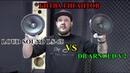 LoudSound LS 65 VS DB Arnold v 2 Сравнение и обзор динамиков АЧХ и прослушка