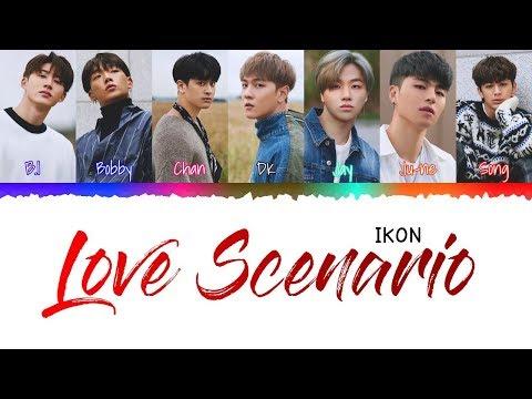 IKON – LOVE SCENARIO (Japanese ver.) [Color Coded Kan|Rom|Eng] Lyrics