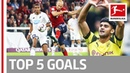 Top 5 Goals on Matchday 1 Robben Witsel Dahoud and More