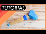 DIY Como hacer la varita de Moon - Tutorial Star vs The forces of evil