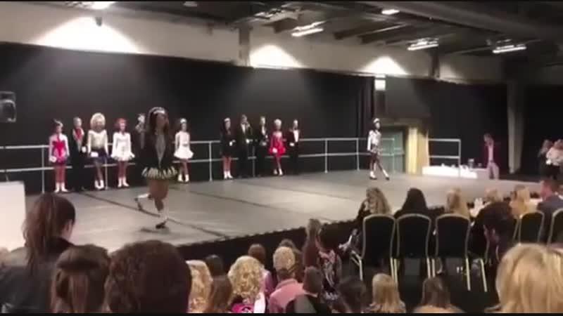 Cara Flannagan Walsh - Birmingham Feis 2019 - Treble Jig | Ирландские танцы