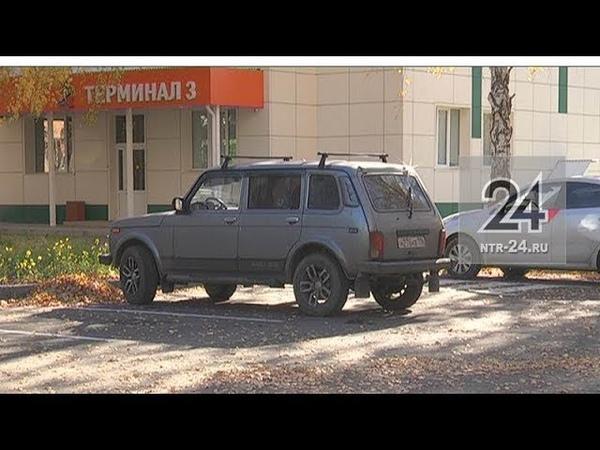 В Нижнекамске у детской поликлиники №2 заработала парковка