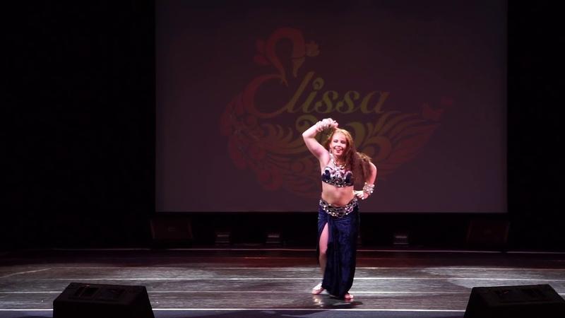 Тренер школы Дудинская Марина Александровна. Отчетный концерт школы восточного танца Elissa 2019