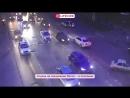 Автомобиль полиции попал в ДТП на юго-востоке Москвы