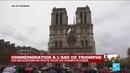 Un siècle après, les cloches de Notre-Dame de Paris résonnent un 11 novembre pour l'Armistice
