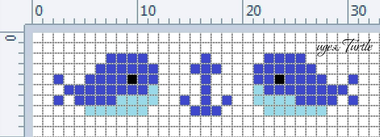 Схема для фенечки киты