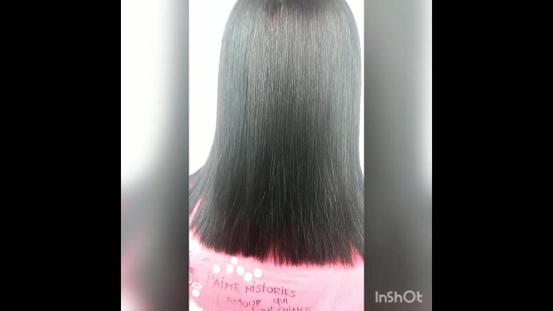Кератиновое выпрямление волос для - Эллы😍