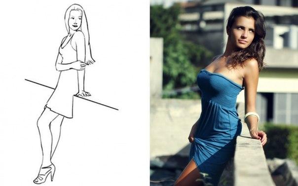 20 самых удачных поз для женской фотосессии: ↪ Чтобы шикарно выглядеть на всех снимках 😉