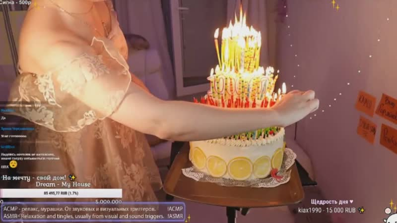 1 000 000 подписчиков : Шампанское Торт Хлопушка | KittyKlaw