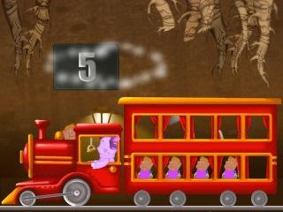 Лунтик : Учим цифры - Паровозик для червячков.Развивающий мультфильм для детей.