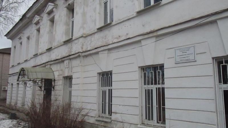 Здание полицейского участка. I половина хIх в.Охраняется государством. г.Белозерск 28.04.2018г.