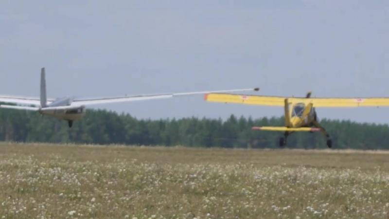 Выезд курсантов на полёты на аэродром Балтаси
