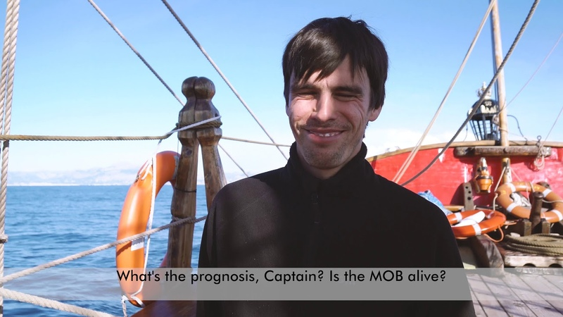Путешествие на парусном корабле Штандарт Shandart frigate
