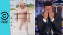 Printed Ballots on Nude Photos of Mitch McConnell The Daily Show with Trevor Noah