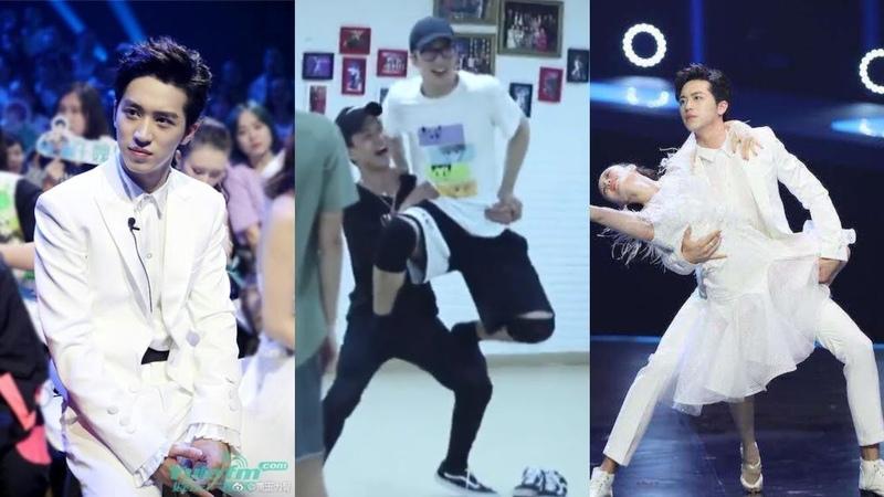 180927 许魏洲 Shake It Up BTS: Xu Weizhou practicing for the 新舞林大会 Final (next Sunday, Sept. 30, 2018)