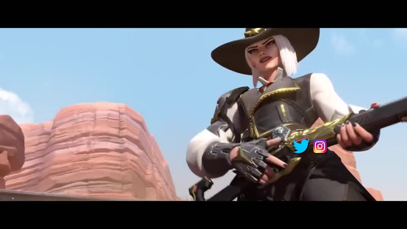 Overwatch Song | Wild Wild West (Ashe Song) | NerdOut! ft Halocene I RUS VERSION
