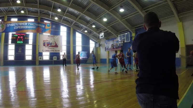Юниор-Алтай баскет 1 период начало