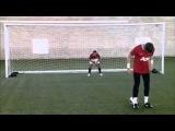 Backheel Penalty Challenge: De Gea and
