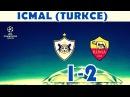 Qarabağ 1 2 Roma İcmal Turkce Qarabag 1 2 Roma Highlight