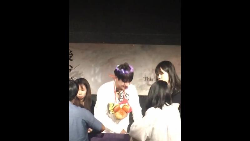 FANCAM | 23.09.18 | Wow @ Taiwan fansign