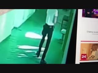 Видео с камер наблюдения в Керчи - постановка