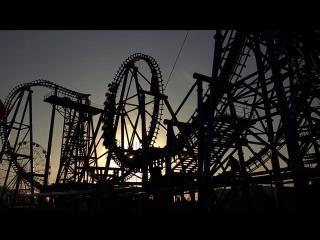 Квантовый скачок суперэкстремальные американские горки в Сочи Парке