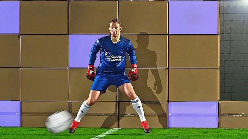 Freekickerz vs. Manuel Neuer - Ultimate Football Challenges