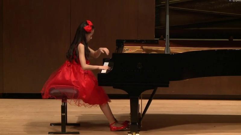 Harmony Zhu (age 11) - Beethoven Sonata No. 14 Moonlight (Full) Op. 27 No. 2