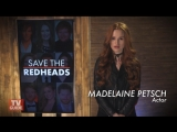 PSA: Riverdale's Madelaine Petsch Wants to Save the Redheads (русские субтитры)