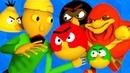 БАЛДИ vs ЗЛЫЕ ПТИЦЫ vs УГАНДА НАКЛЗ Baldi's Basics Angry Birds АНИМАЦИЯ