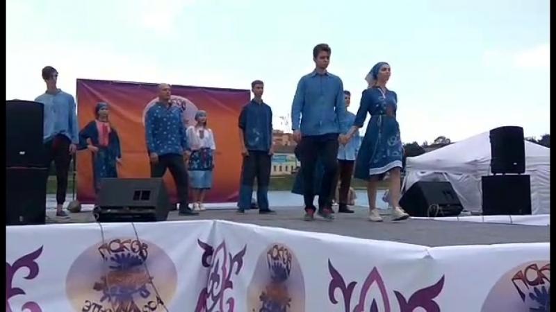 Этно мода фестиваль. Гран-при - Коллекция Надежды Касаткиной. Удмуртия.