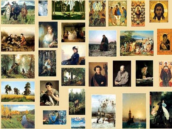 художественном картины фото в музее