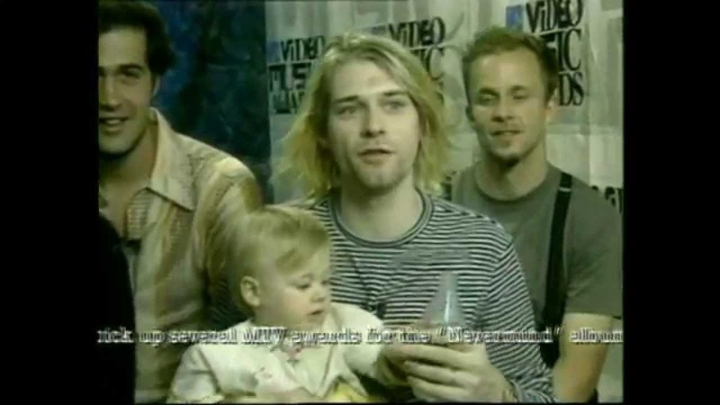 Nirvana MTV Video Music Awards 1993