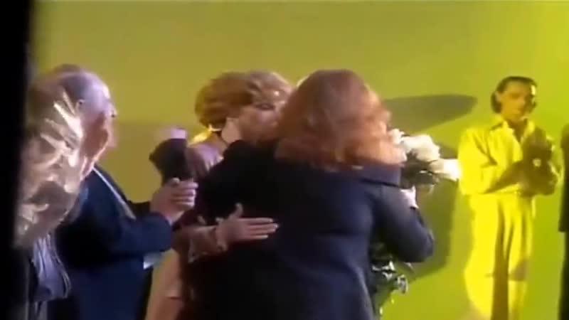 1998.16.10.Алла Пугачёва на спектакле Людмилы Гурченко.(Бюро счатья)
