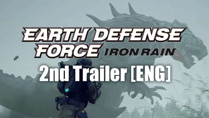 EARTH DEFENSE FORCE: IRON RAIN 2nd Trailer