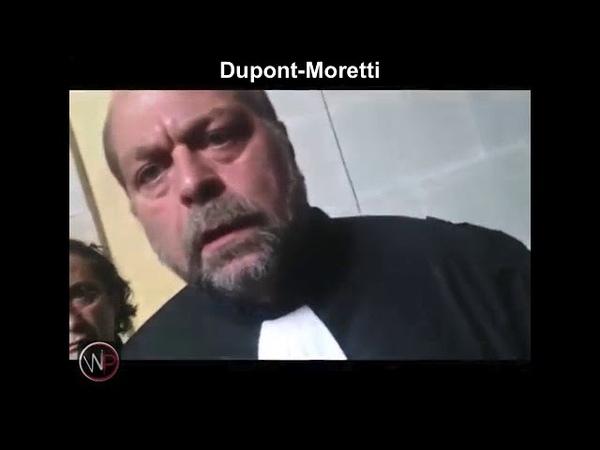 Dupond Moretti confronté à la populace lui remettant les idées en place il fuit comme un voleur