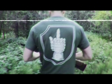 antisocial pro military green t-shirt promo