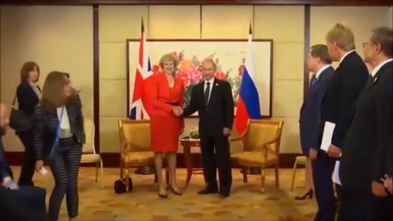 Vladimir Putin Handshake Style Compilation