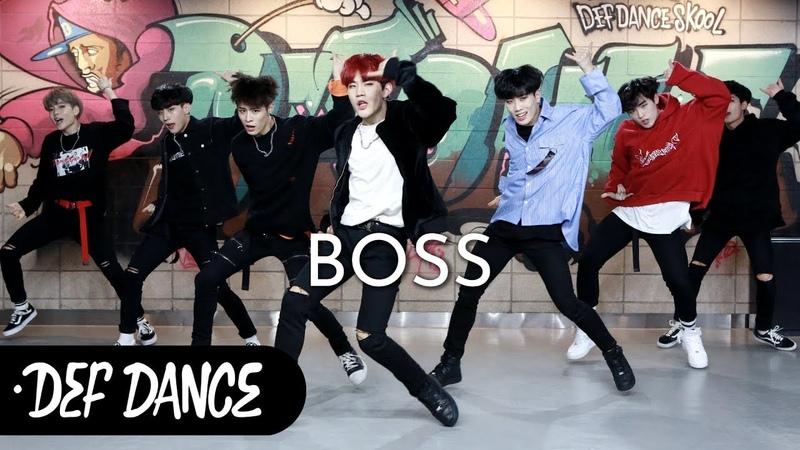 NCT U(엔시티 유) - BOSS(보스) 댄스학원 No.1 KPOP DANCE COVER / 데프수강생 월말평가 방송댄스 안무 가