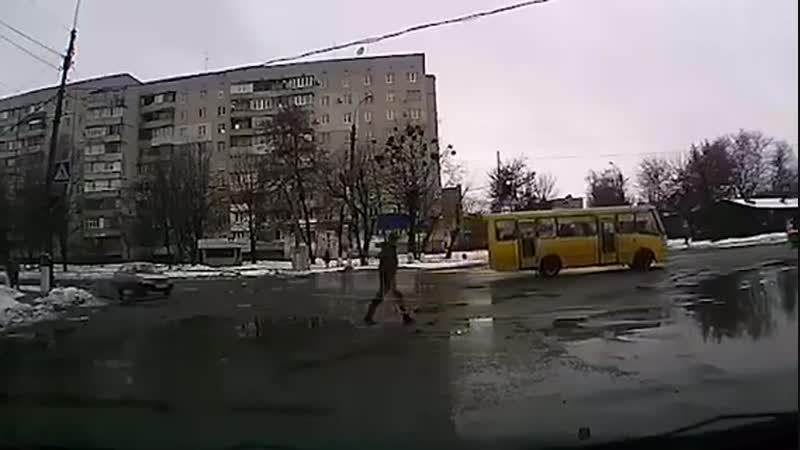 Пешеход ниндзя