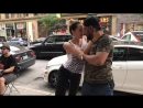 Bachata in the street of Montreal | John Legend - All of me