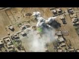 Сирия.07-12-2017.ВКС работает  по позициям  по боевикам ИГ в поселках Таас аш-Шаир и Джабра севернее Абу-Кемаля