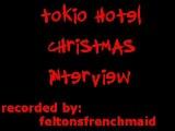 6.12.2008 Tokio Hotel Christmas Interview on KIIS FM with JoJo
