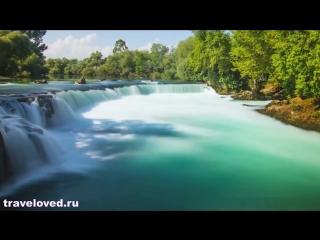 Уникальная красота Турции под зажигательную музыку {Турция экскурсии Кемер пляж солнце море}