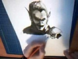 Green goblin (speed drawing) from the Amazing Spider-man 2!